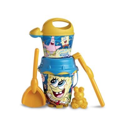 SpongyaBob homokozó készlet, locsolókannával