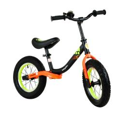 Babybike futóbicikli, fekete-narancssárga