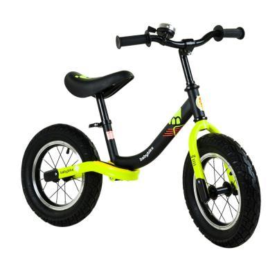 Babybike futóbicikli, fekete-neonsárga
