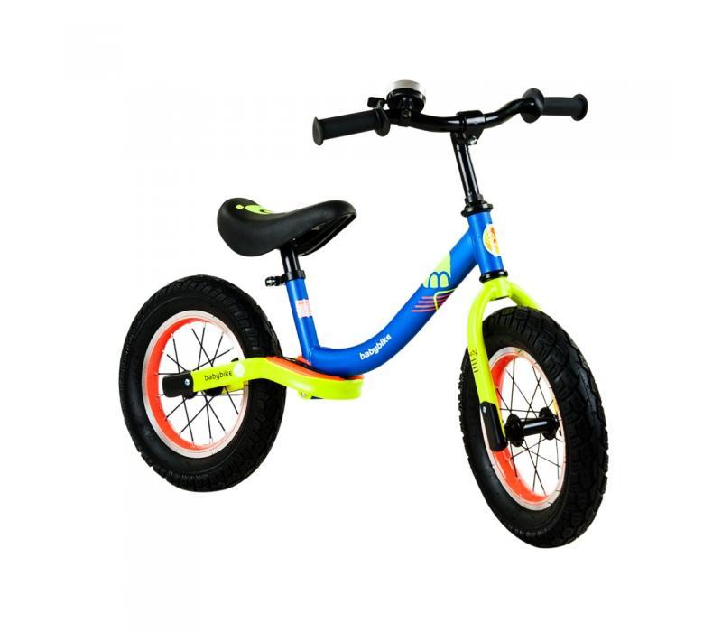 Babybike futóbicikli, kék-neonsárga