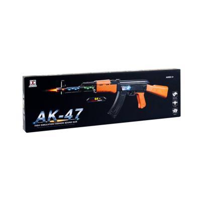 Játék gépfegyver AK-47 hanggal és fénnyel