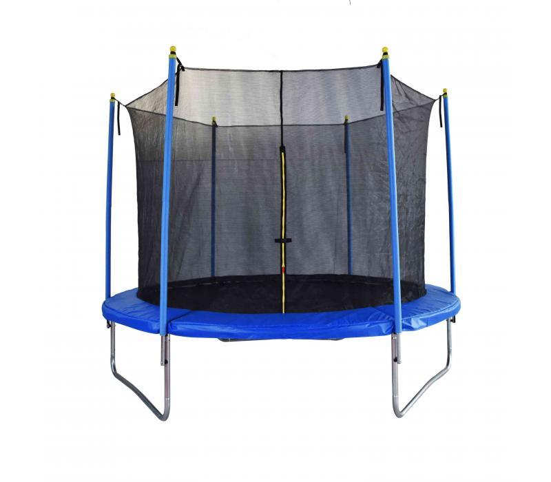 Trambulin biztonsági hálóval 305 cm