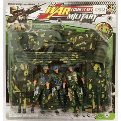 Műanyag játék hadsereg, többféle