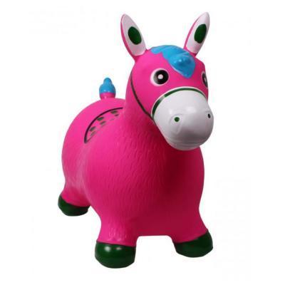 Rózsaszín póni ugrálófigura