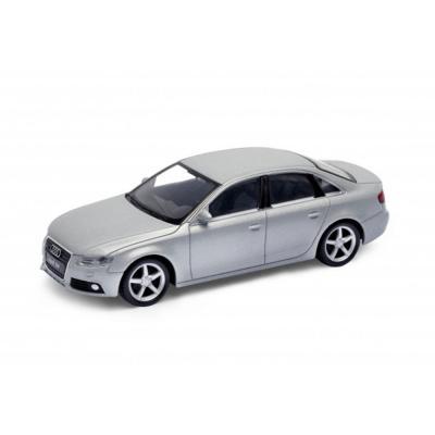 Welly Audi A4 ezüst kisautó, 1:43