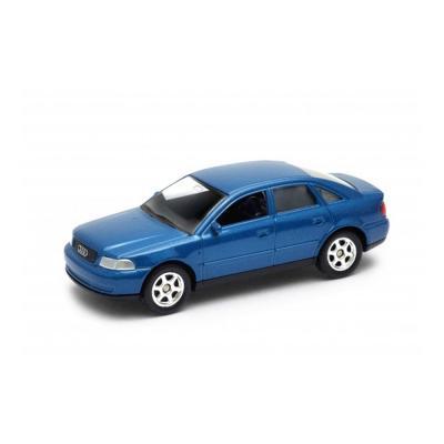Welly Audi A4 kék kisautó, 1:60-64