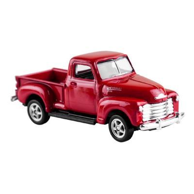 Welly Chevrolet 3100 Pick up piros kisautó, 1:60-64