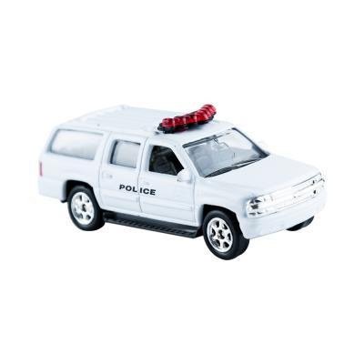 Welly Chevrolet Suburban rendőr kisautó, 1:60-64