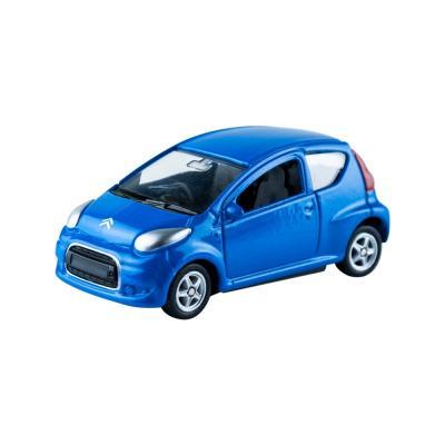 Welly Citroen C1 kék kisautó, 1:60-64