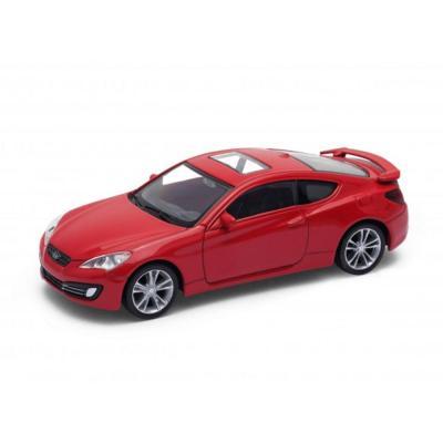 Welly Hyundai Genesis Coupe piros kisautó, 1:43