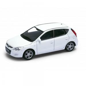 Welly Hyundai i30 fehér kisautó, 1:43