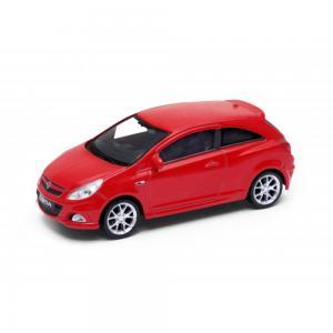 Welly Opel Corsa OPC piros kisautó, 1:43