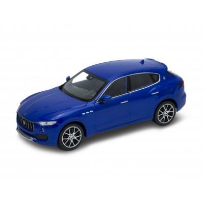 Welly Maserati Levante kék kisautó, 1:24
