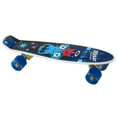 Penny board mintás gördeszka, kék