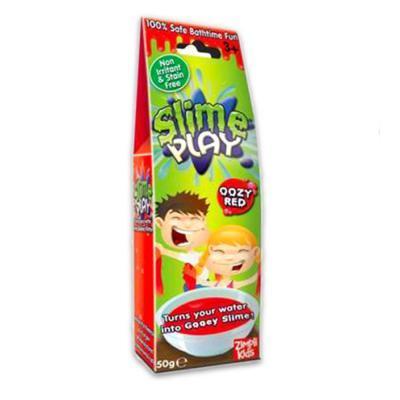 Slime Play nyálkás fürdőzselé 50 g, piros