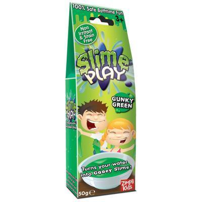 Slime Play nyálkás fürdőzselé 50 g, zöld