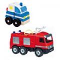 Rendőrautók, tűzoltóautók