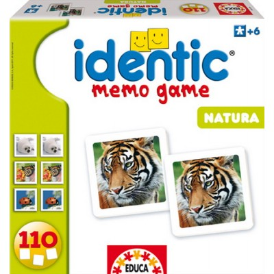 Educa Identic A világ állatai párkereső memóriajáték