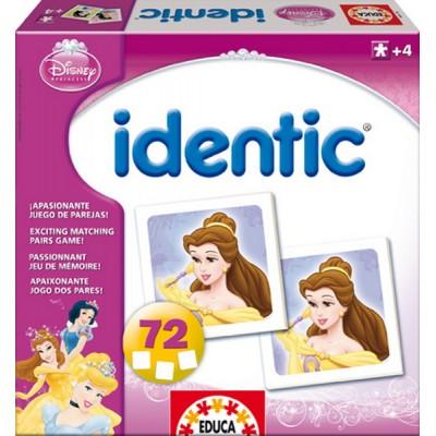 Educa Identic Disney Hercegnők párkereső memóriajáték