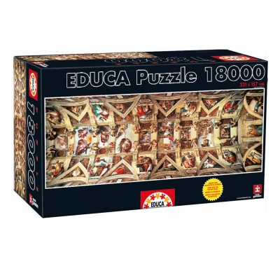 Educa A Sixtus-kápolna puzzle, 18000 darabos