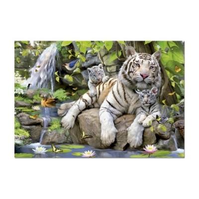 Educa Bengáli tigrisek puzzle, 1000 darabos