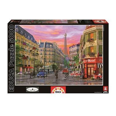 Educa D. Davison, Rue Paris puzzle, 5000 darabos