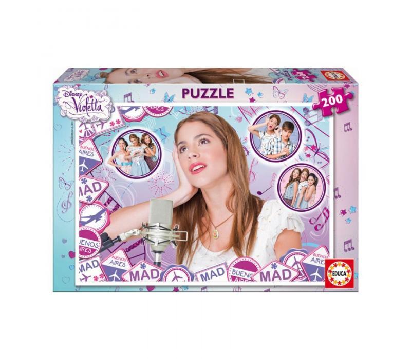 Educa Disney Violetta puzzle, 200 darabos