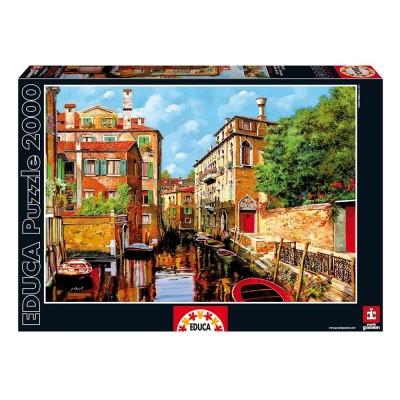 Educa Guido Borelli, Velencei látkép puzzle, 2000 darabos