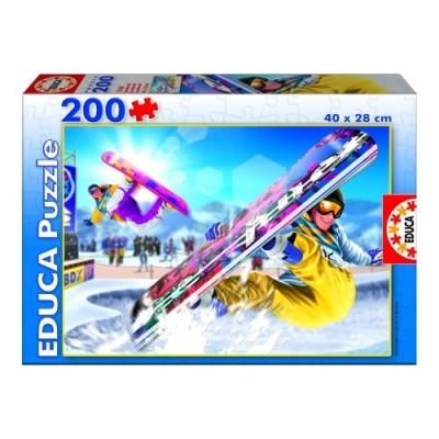 Educa Hódeszkázás puzzle, 200 darabos