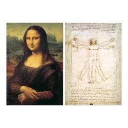 Educa Leonardo da Vinci puzzle, 2x1000 darabos