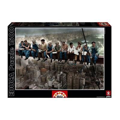 Educa New York-i reggeli puzzle, 1500 darabos