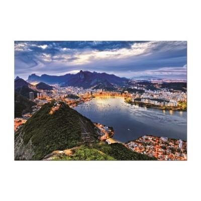 Educa Rio De Janeiro, Brazília HDR puzzle, 2000 darabos