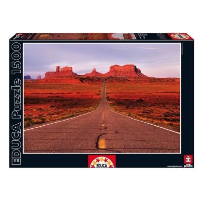 Educa Valley road puzzle, 1500 darabos