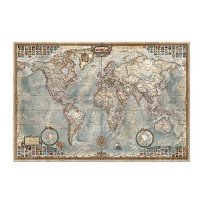 Educa Világtérkép puzzle, 4000 darabos
