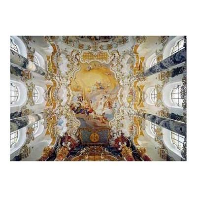 Educa Wieskirche templom puzzle, 4000 darabos