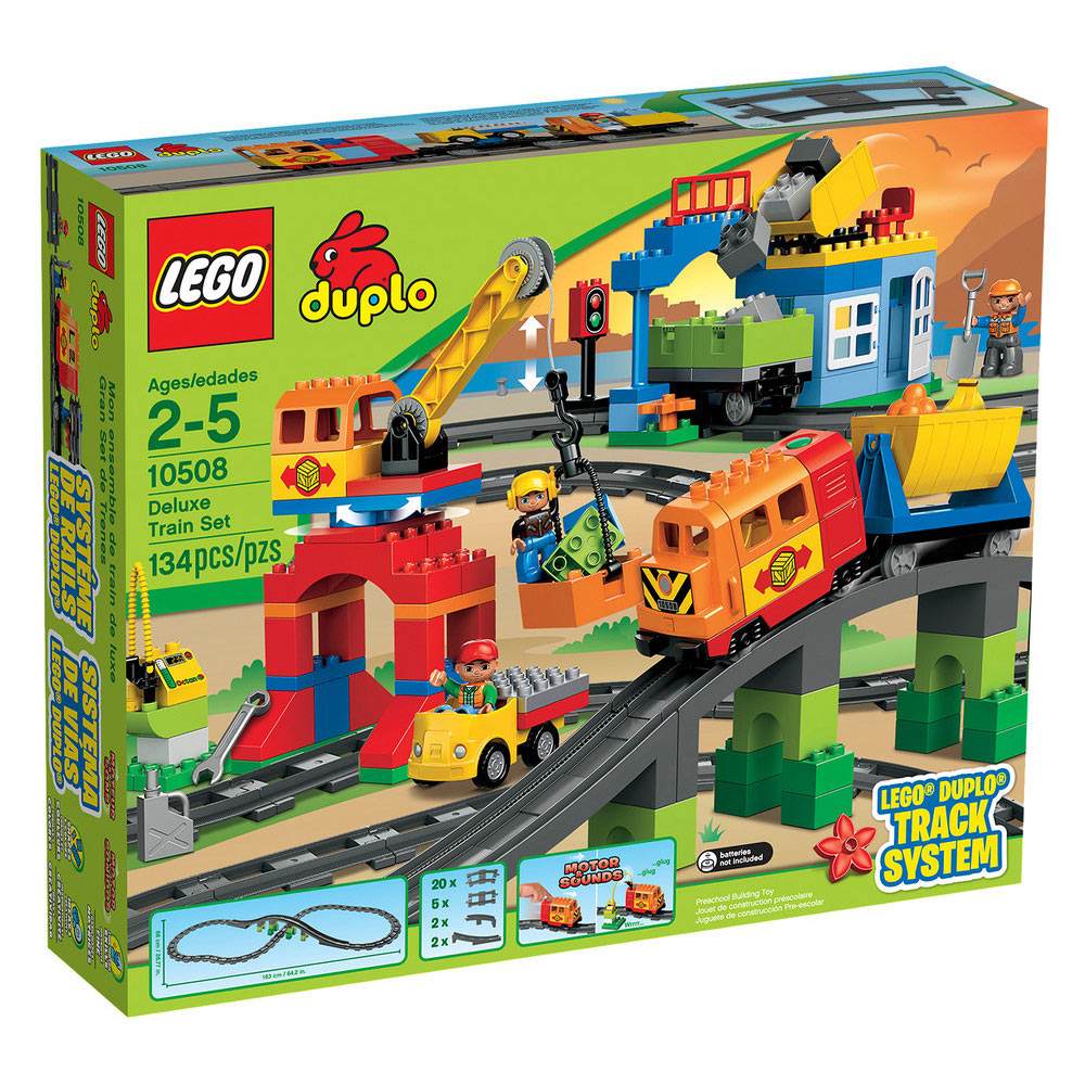 Lego Duplo Deluxe vasútkészlet 10508