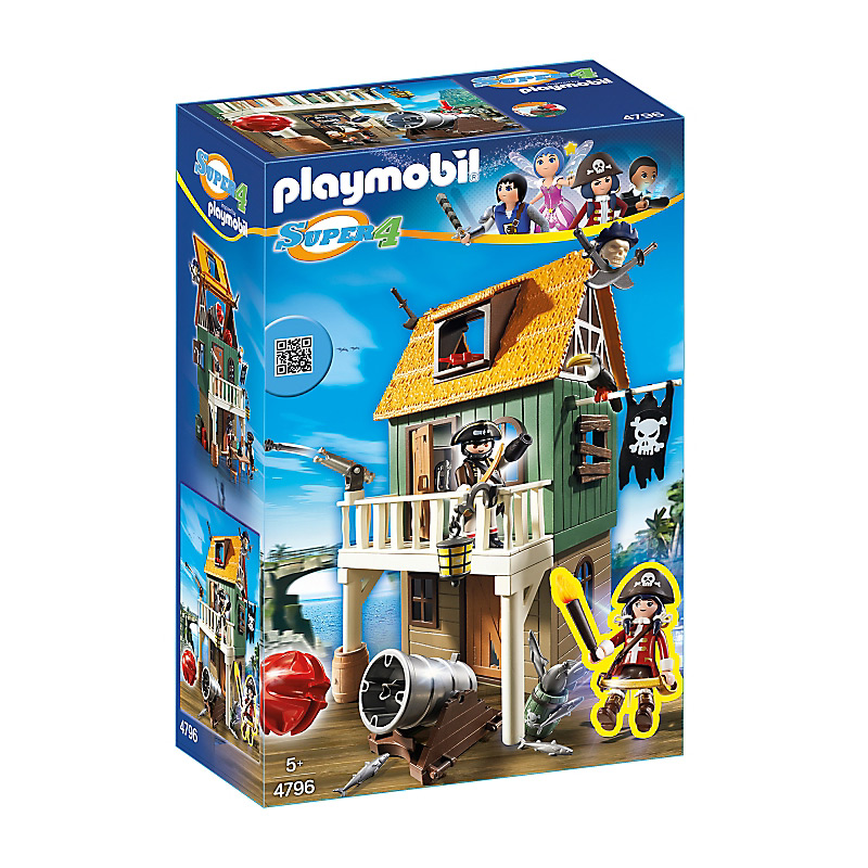 Playmobil 4796 - Ruby a Kalóztanyán