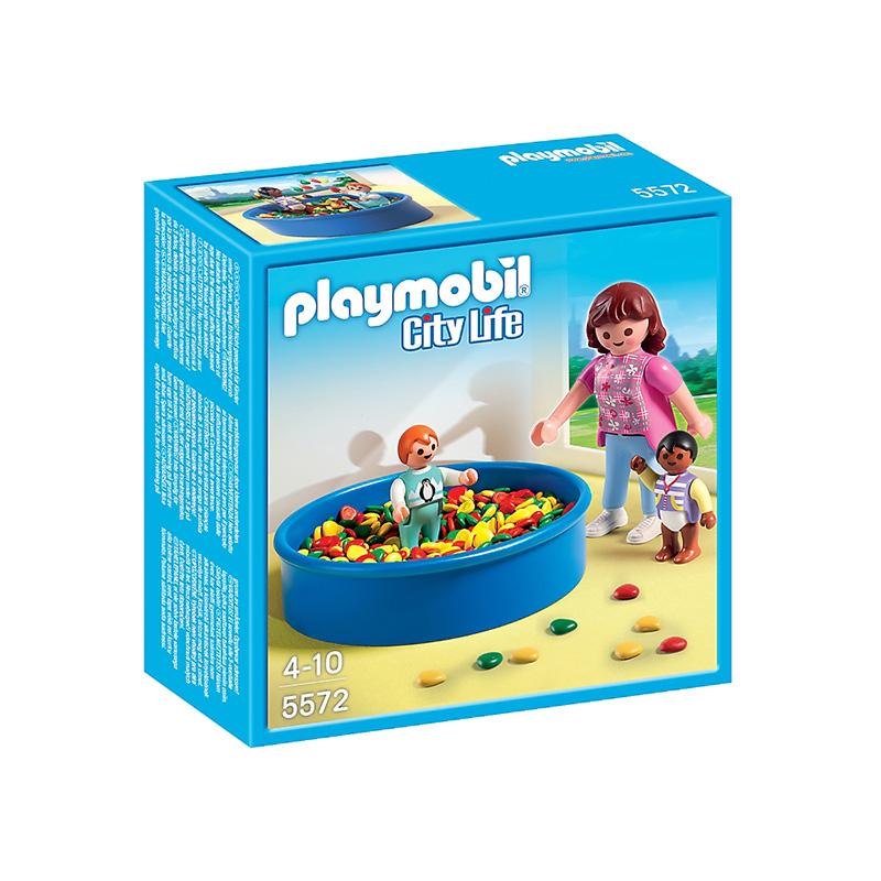 Playmobil 5572 - Színgolyós medence